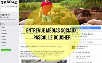 Animation de communautés : une affaire qui marche pour Pascal le boucher!