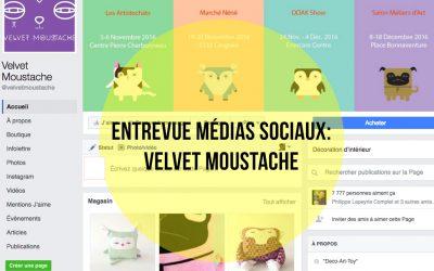 Velvet Moustache : Des peluches décoratives qui se partagent facilement  sur le web!