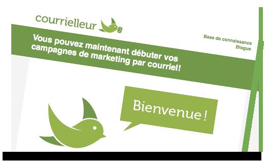 Marketing local courrielleur