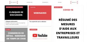 École des entrepreneurs du Québec - COVID-19