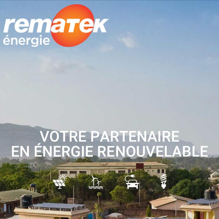 Un nouveau site internet pour Rematek Énergie